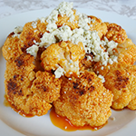 Buffalo Hot Wing Cauliflower