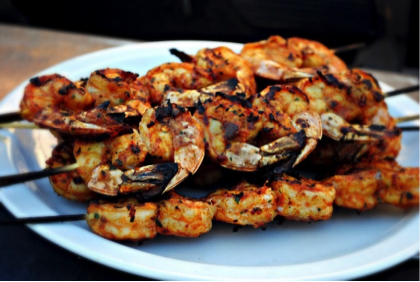 Chipotle Shrimp Skewers