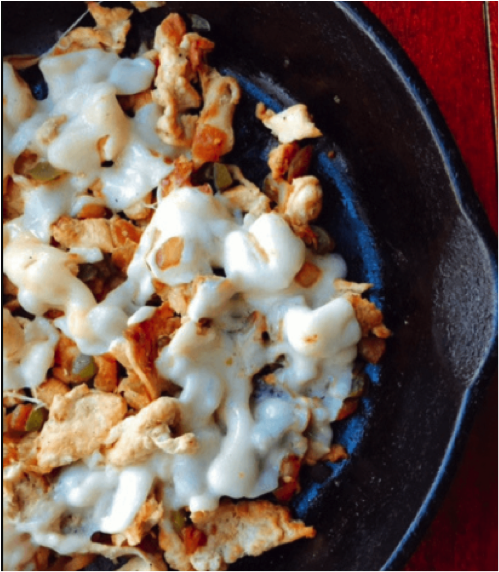 Low Carb Chicken Philly Cheesesteak