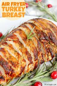 Air Fryer Garlic Herb Turkey Breast