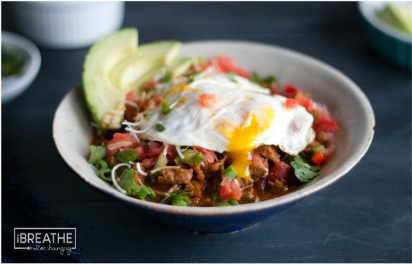 Low Carb Breakfast Chili